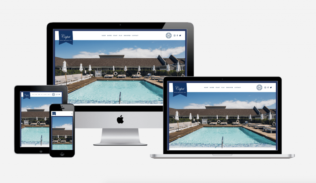 Carbon Digital Project Featured Image for Capri Southampton Hotel