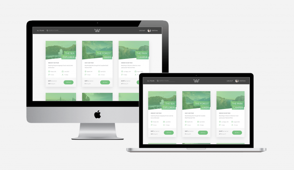 Carbon Digital Project Featured Image for Natours Dev Site