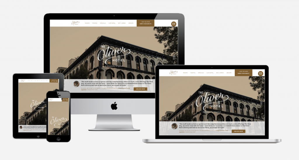 Carbon Digital Project Featured Image for The Oliver Hotel