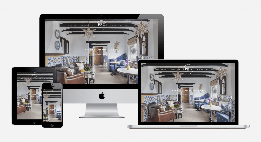 Carbon Digital Project Featured Image for PRG Hospitality Group