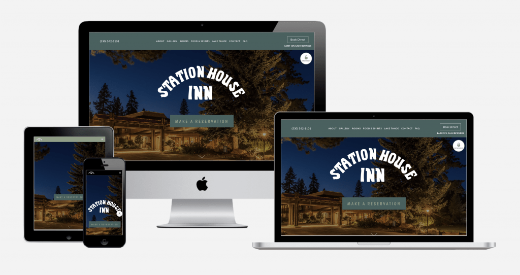 Carbon Digital Project Featured Image for Station House Inn
