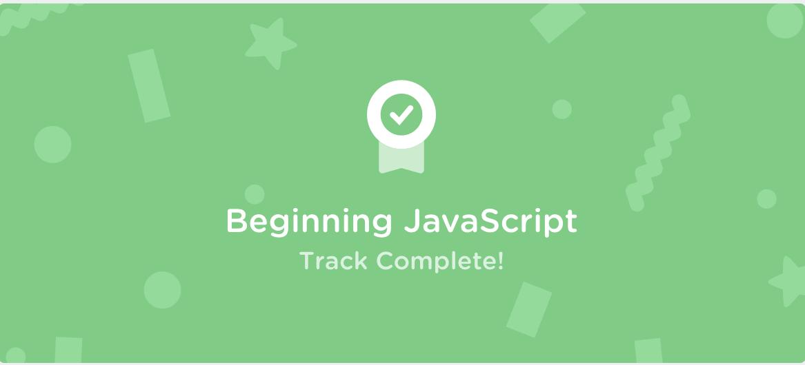 Treehouse Beginning Javascript Cert