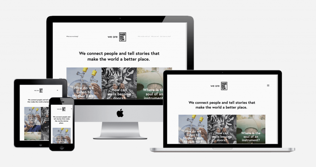 Carbon Digital Project Featured Image for We Are Harrington