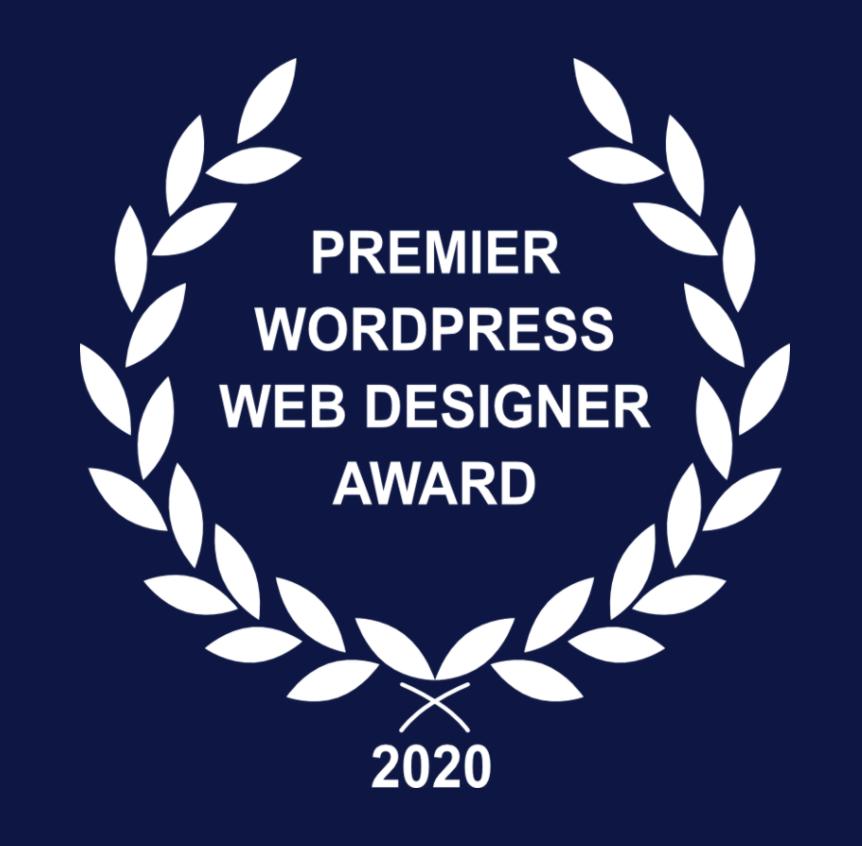 2020 WordPress Web Design Award for Carbon Digital