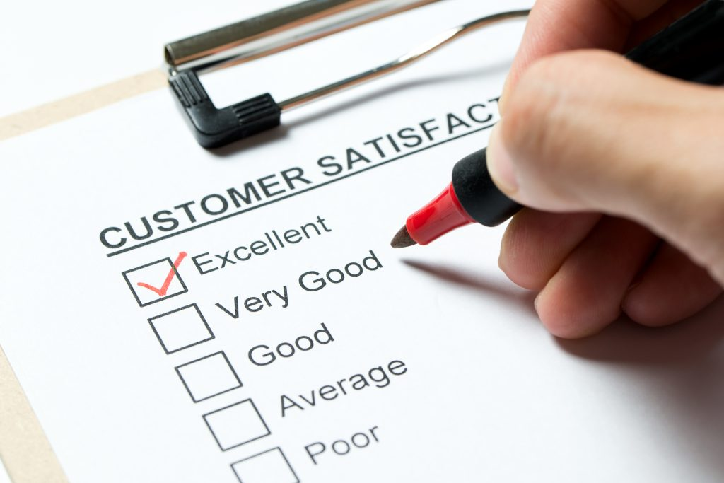 e-commerce email for customer feedback, customer satisfaction and customer surveys