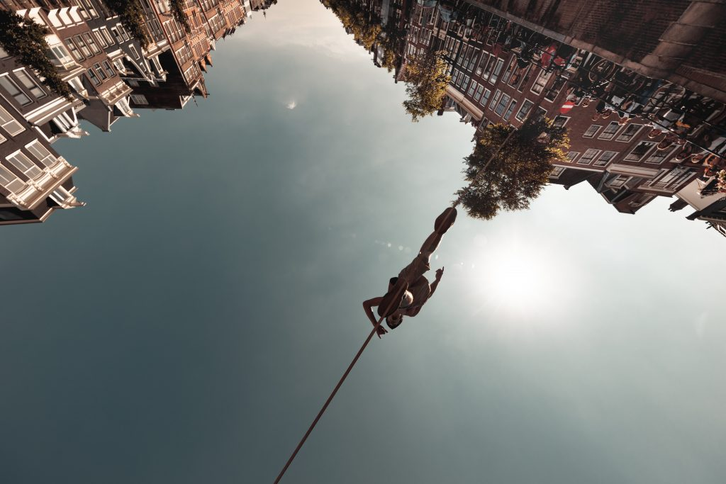 permission marketing and tight rope walking