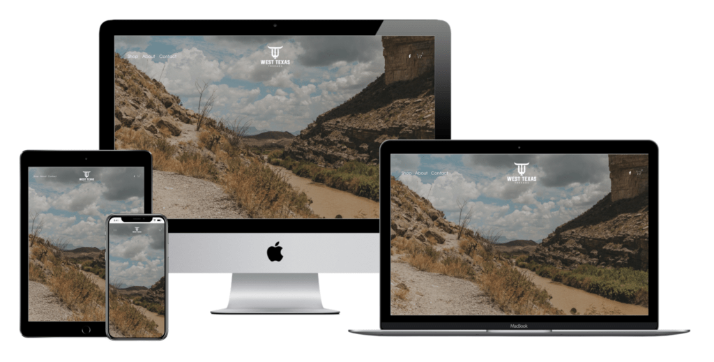 Carbon Digital Project Featured Image for West Texas Threads